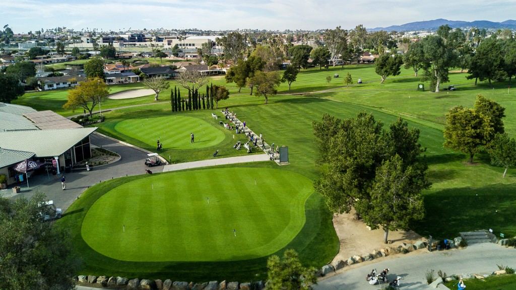 EDS: St. Mark Golf - Looking Over the Greens
